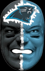NFL Fan Face Carolina Panthers - Franklin Sports