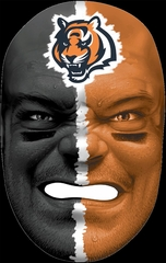 NFL Fan Face Cincinnati Bengals - Franklin Sports