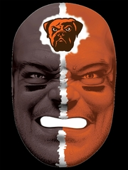 NFL Fan Face Cleveland Browns - Franklin Sports