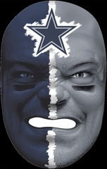 NFL Fan Face Dallas Cowboys - Franklin Sports