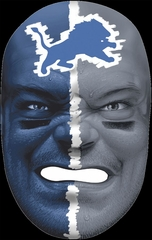 NFL Fan Face Detroit Lions - Franklin Sports