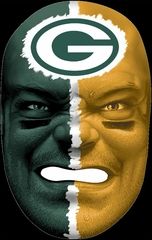NFL Fan Face Green Bay Packers - Franklin Sports