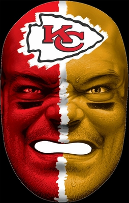 NFL Fan Face Kansas City Chiefs - Franklin Sports