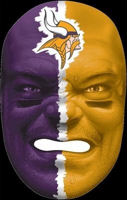 NFL Fan Face Minnesota Vikings - Franklin Sports