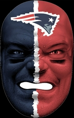NFL Fan Face New England Patriots - Franklin Sports