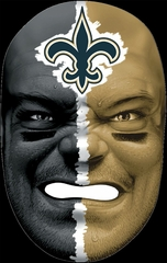 NFL Fan Face New Orleans Saints - Franklin Sports