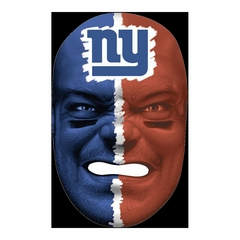 NFL Fan Face New York Giants - Franklin Sports