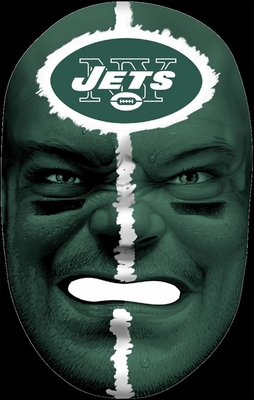 NFL Fan Face New York Jets - Franklin Sports