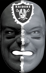 NFL Fan Face Oakland Raiders - Franklin Sports