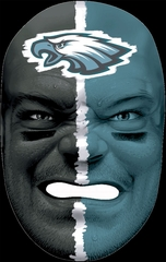 NFL Fan Face Philadelphia Eagles - Franklin Sports