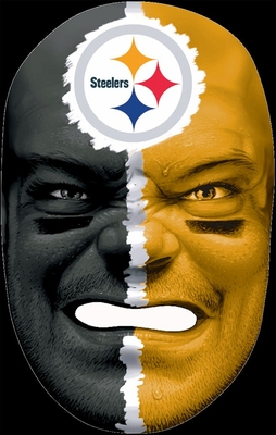 NFL Fan Face Pittsburgh Steelers - Franklin Sports