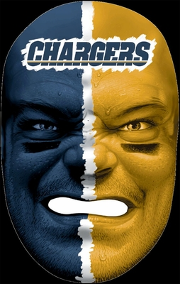 NFL Fan Face San Diego Chargers - Franklin Sports