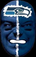 NFL Fan Face Seattle Seahawks - Franklin Sports