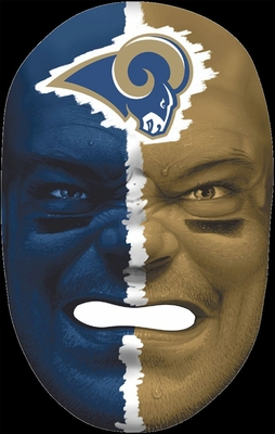 NFL Fan Face St. Louis Rams - Franklin Sports