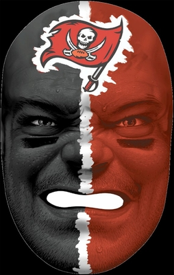 NFL Fan Face Tampa Bay Buccaneers - Franklin Sports