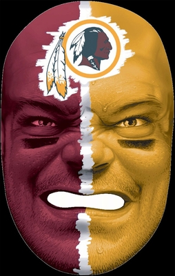 NFL Fan Face Washington Redskins - Franklin Sports