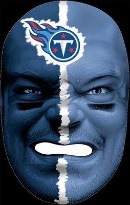 NFL Fan FaceTennessee Titans - Franklin Sports