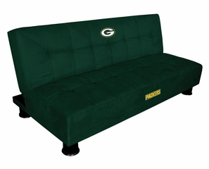 NFL Green Bay Packers Convertible Sofa with Tray - Imperial International - 852620