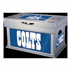 NFL Indianapolis Colts Wood Foot Locker - Franklin Sports