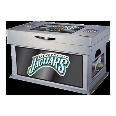 NFL Jacksonville Jaguars Wood Foot Locker - Franklin Sports