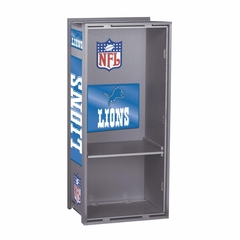 "NFL Lions 36"" Wood Locker - Franklin Sports"