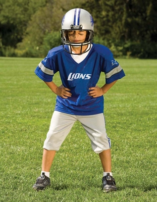 NFL Lions Uniform Set - Franklin Sports
