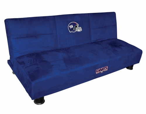 NFL New York Giants Convertible Sofa with Tray - Imperial International - 852616