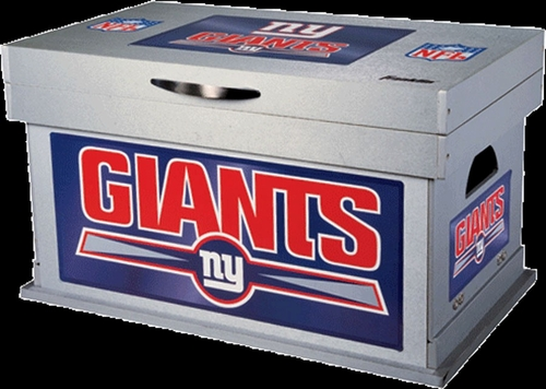 NFL New York Giants Wood Foot Locker - Franklin Sports
