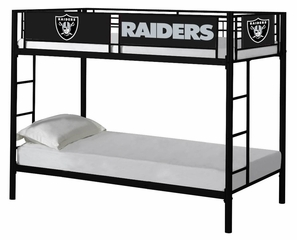 NFL Oakland Raiders Bunk Bed - Imperial International - 901623