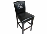 NFL Oakland Raiders Counter Chair (Set of 2) - Imperial International - 101623