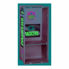 "NFL Packers 36"" Wood Locker - Franklin Sports"