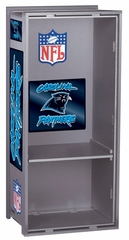 "NFL Panthers 36"" Wood Locker - Franklin Sports"