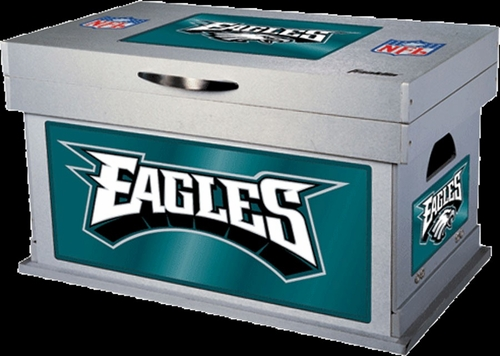 NFL Philadelphia Eagles Wood Foot Locker - Franklin Sports