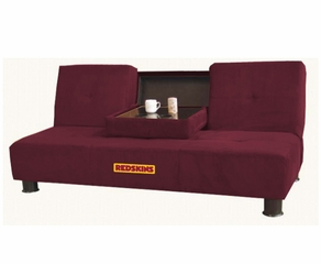 NFL Redskins Convertible Sofa with Tray - Imperial International - 852626