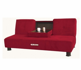 NFL San Francisco 49ers Convertible Sofa with Tray - Imperial International - 852601