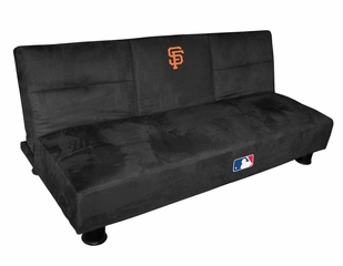 NFL San Francisco Giants Convertible Sofa with Tray - Imperial International - 852512