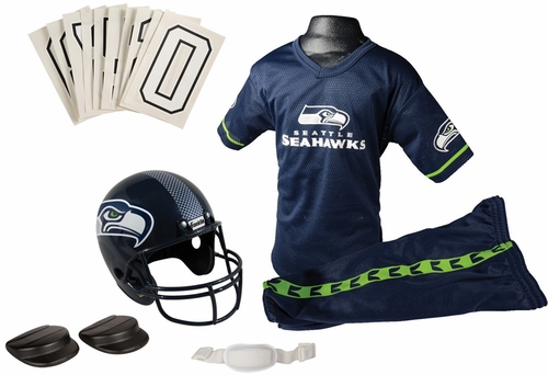 NFL Seahawks Uniform Set - Franklin Sports