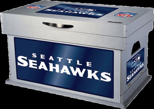 NFL Seattle Seahawks Wood Foot Locker - Franklin Sports