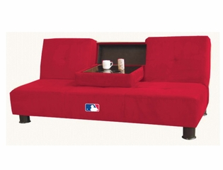 NFL St. Louis Cardinals Convertible Sofa with Tray - Imperial International - 852507