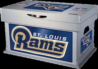 NFL St. Louis Rams Wood Foot Locker - Franklin Sports