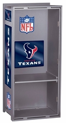"NFL Texans 36"" Wood Locker - Franklin Sports"