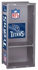 "NFL Titans 36"" Wood Locker - Franklin Sports"