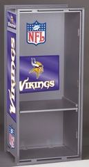 "NFL Vikings 36"" Wood Locker - Franklin Sports"