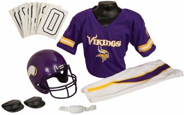 NFL Vikings Uniform Set - Franklin Sports