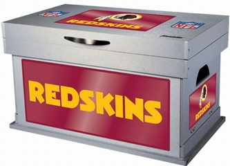 NFL Washington Redskins Wood Foot Locker - Franklin Sports