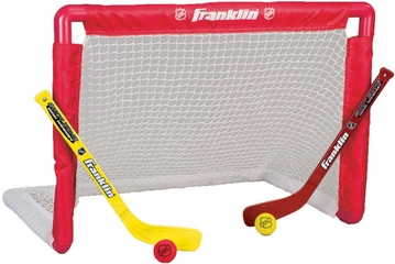 NHL Goal, Stick and Ball Set - Franklin Sports