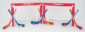 NHL Mini Folding 2-Goal Combo Set - Franklin Sports