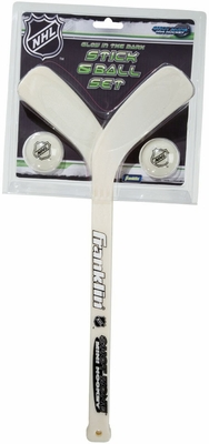 NHL Mini Hockey Glow In The Dark Player Sticks & Ball Set - Franklin Sports