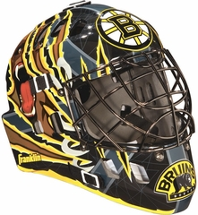 NHL Team SX Comp 100 Goalie Face Mask Bruins - Franklin Sports