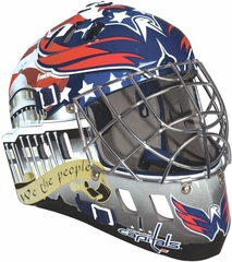 NHL Team SX Comp 100 Goalie Face Mask Capitals - Franklin Sports